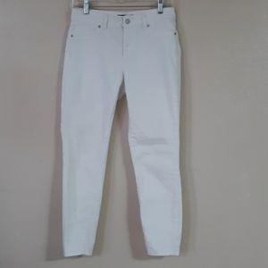 Blue Spice white Jean's Skinny Size 7